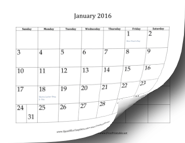 2016 12 month calendar all of 2016 is available in monthly calendars ...